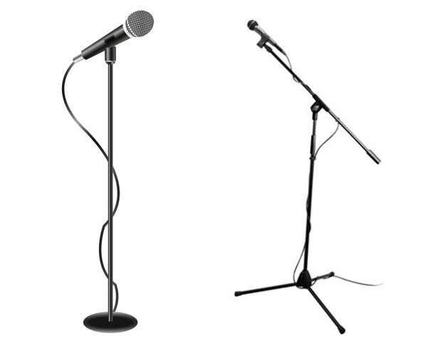 Microphones: Wired with Mic Stand