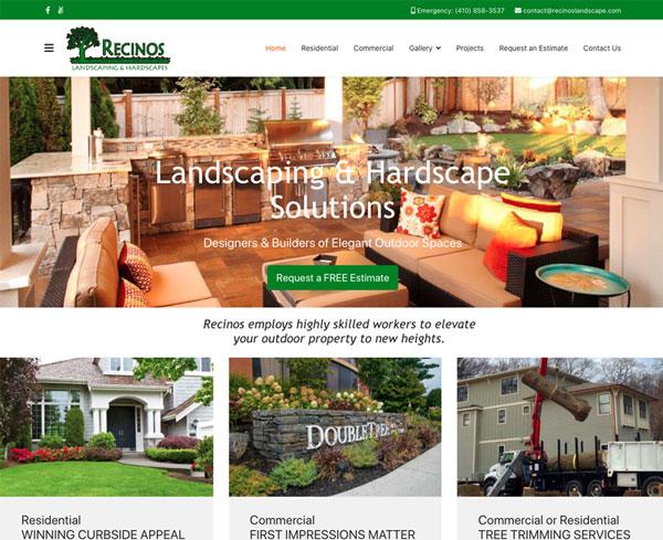 ADEK Recinos Website Example
