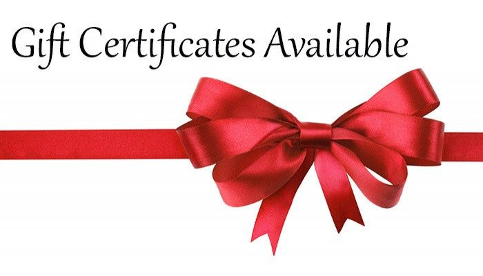 Gift Certificates at ADEK Productions
